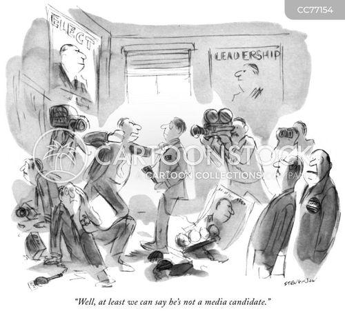 running for office cartoon
