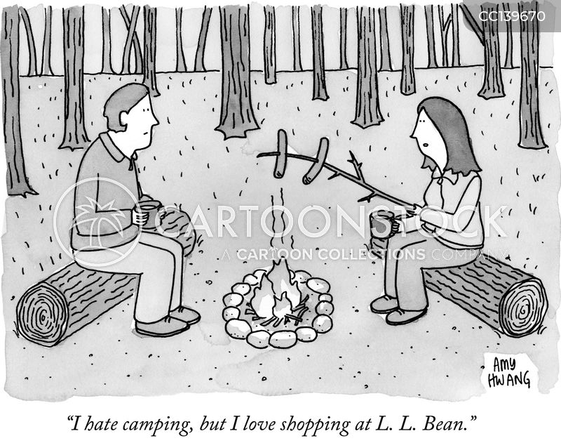 outdoors cartoon