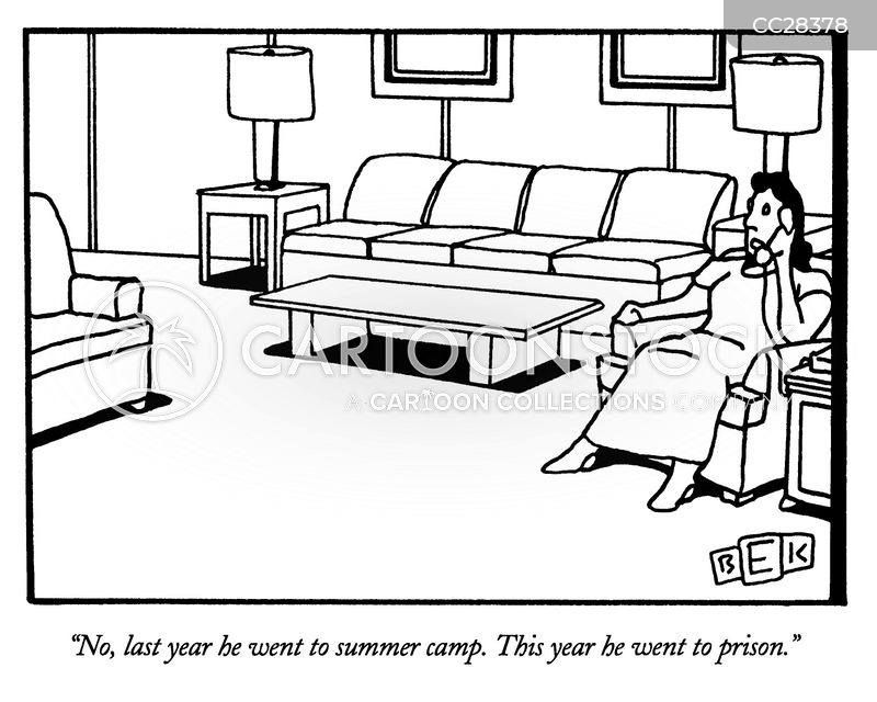 camper cartoon