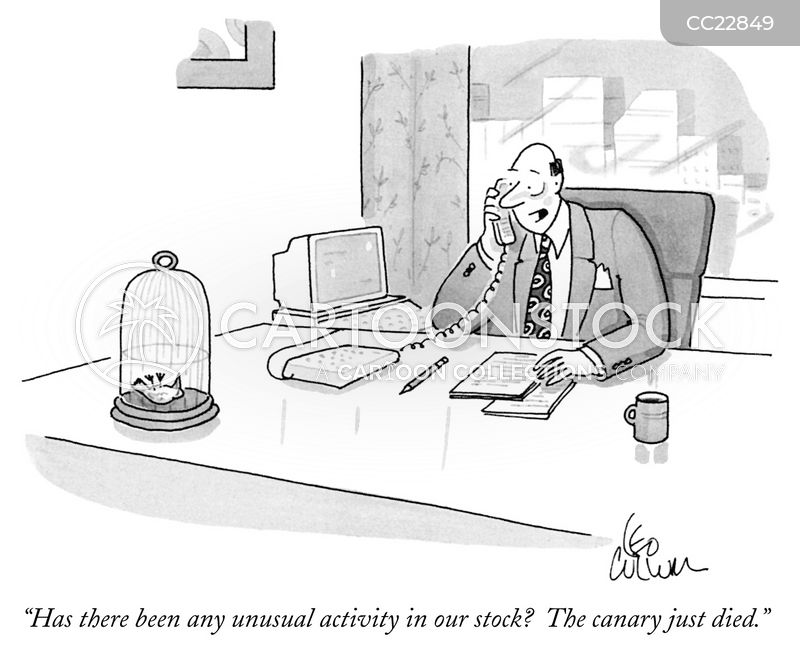 company stock cartoon
