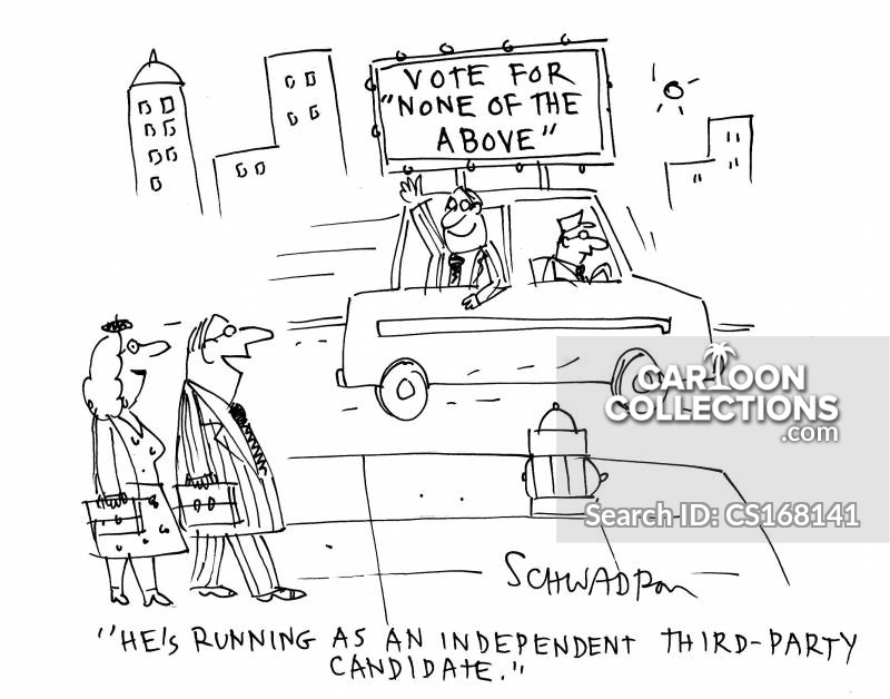 independent tickets cartoon
