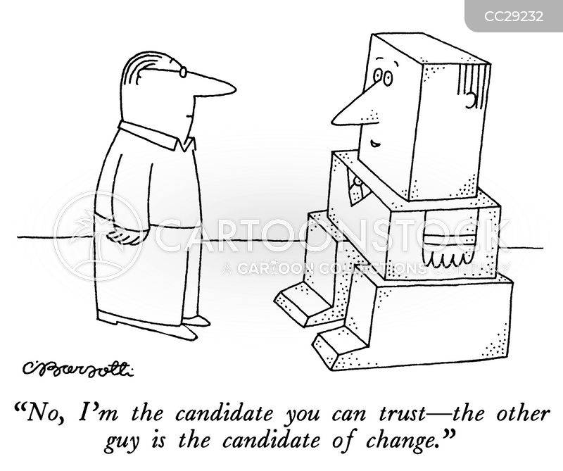 trust cartoon