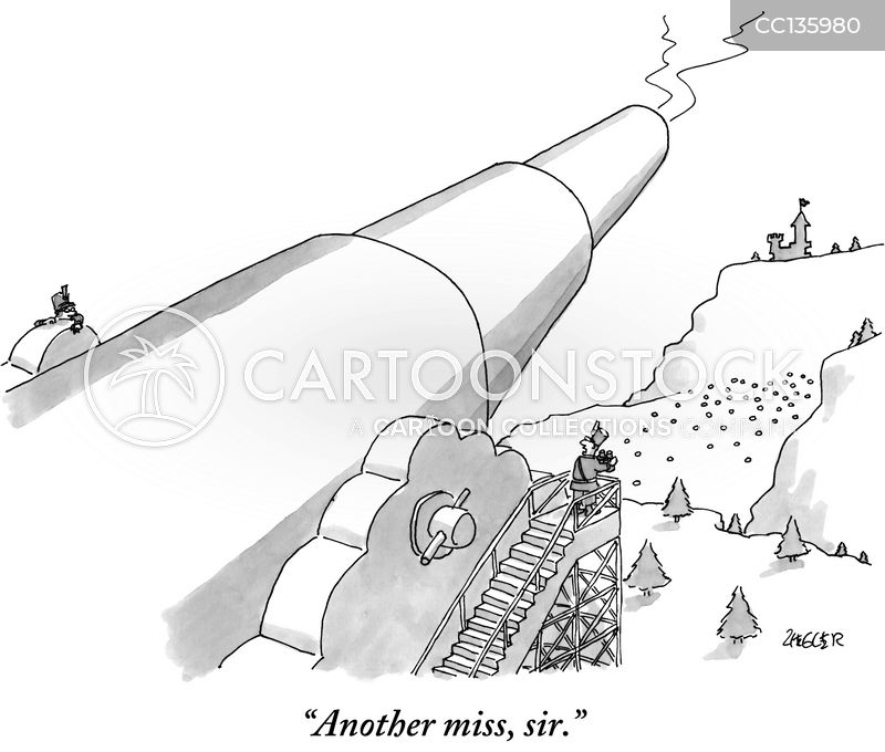artillery cartoon