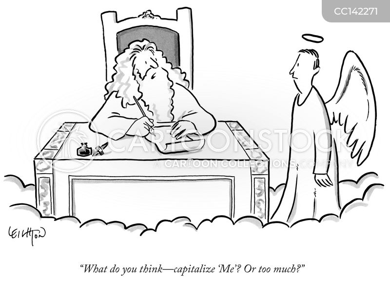 Reverential Capitalization cartoon