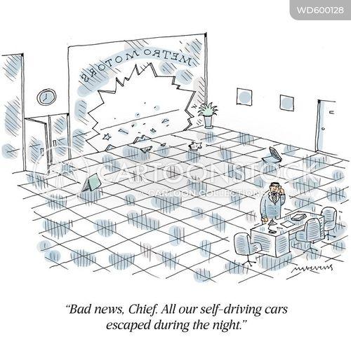 car dealers cartoon