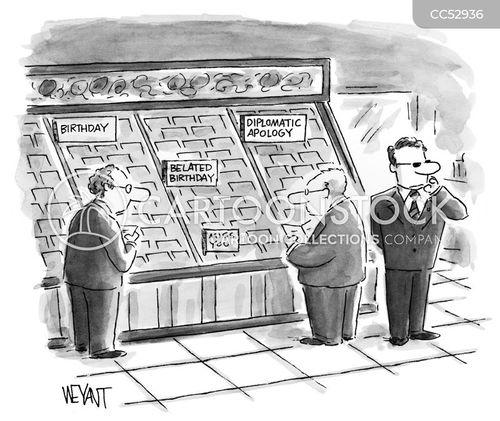 card shops cartoon