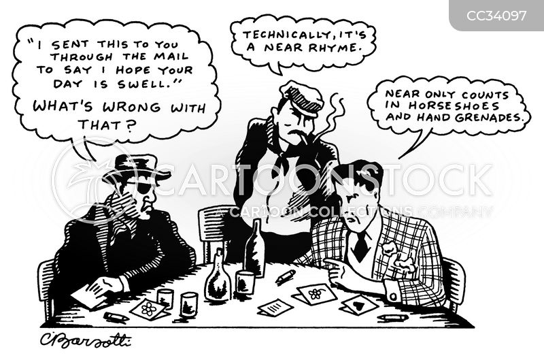 pedant cartoon