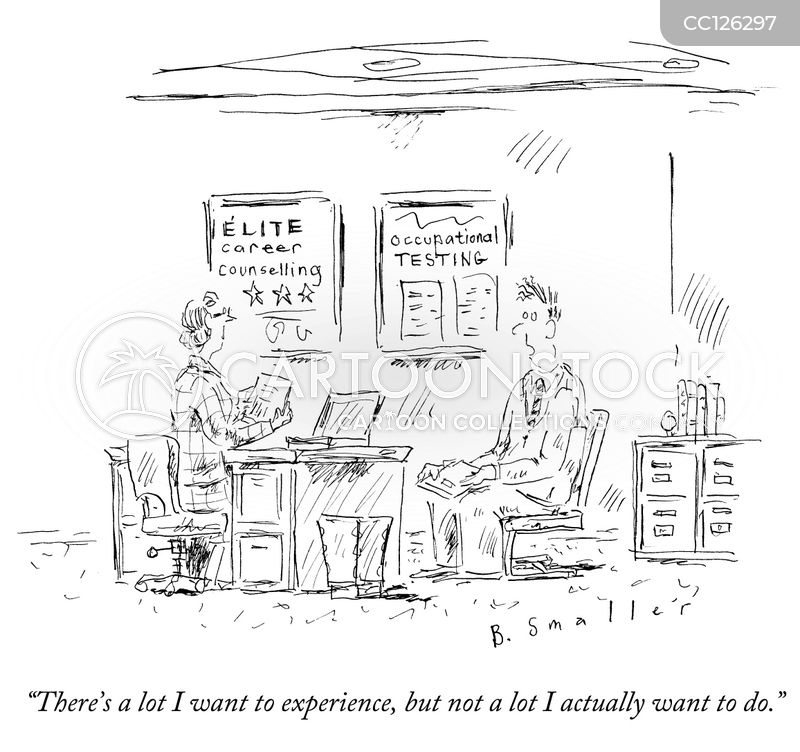 career counselling cartoon