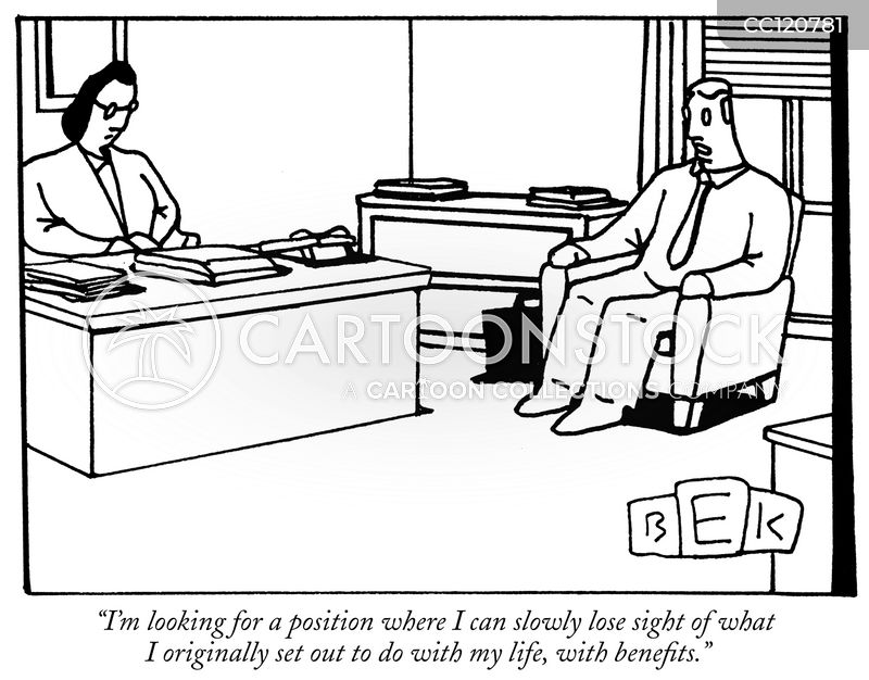 dream job cartoon