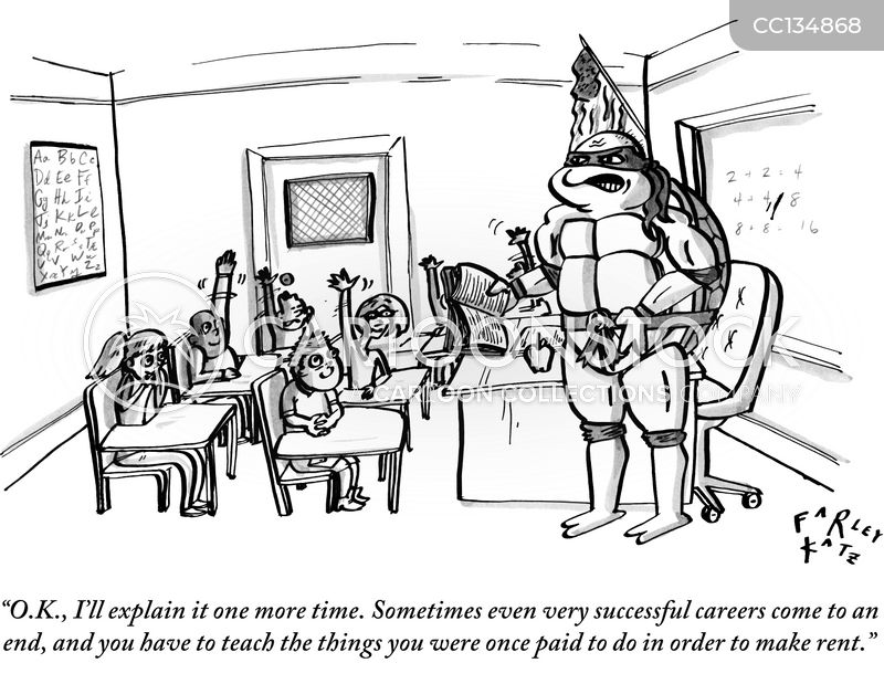 career days cartoon