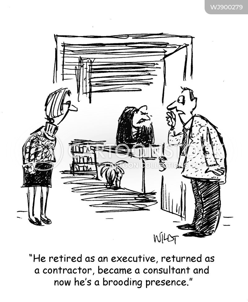 consultants cartoon