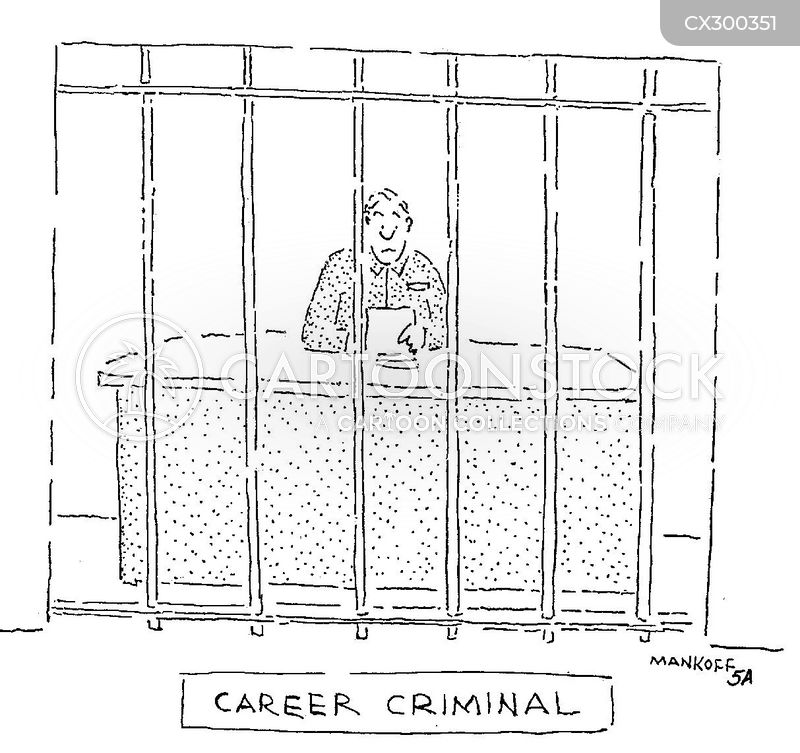 career criminals cartoon