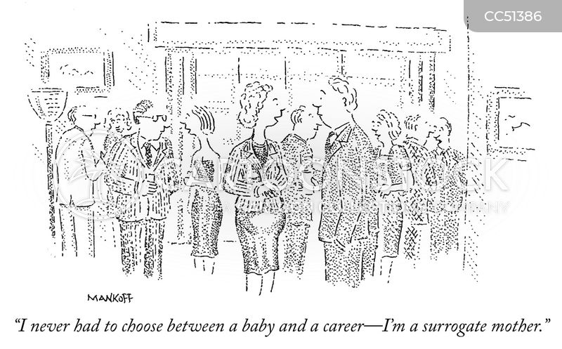 surrogate mom cartoon