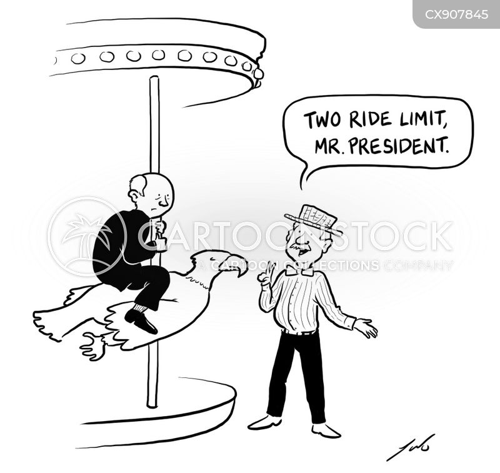 fairground cartoon