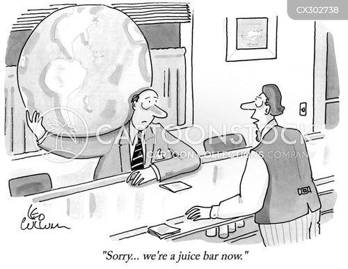 juice cartoon