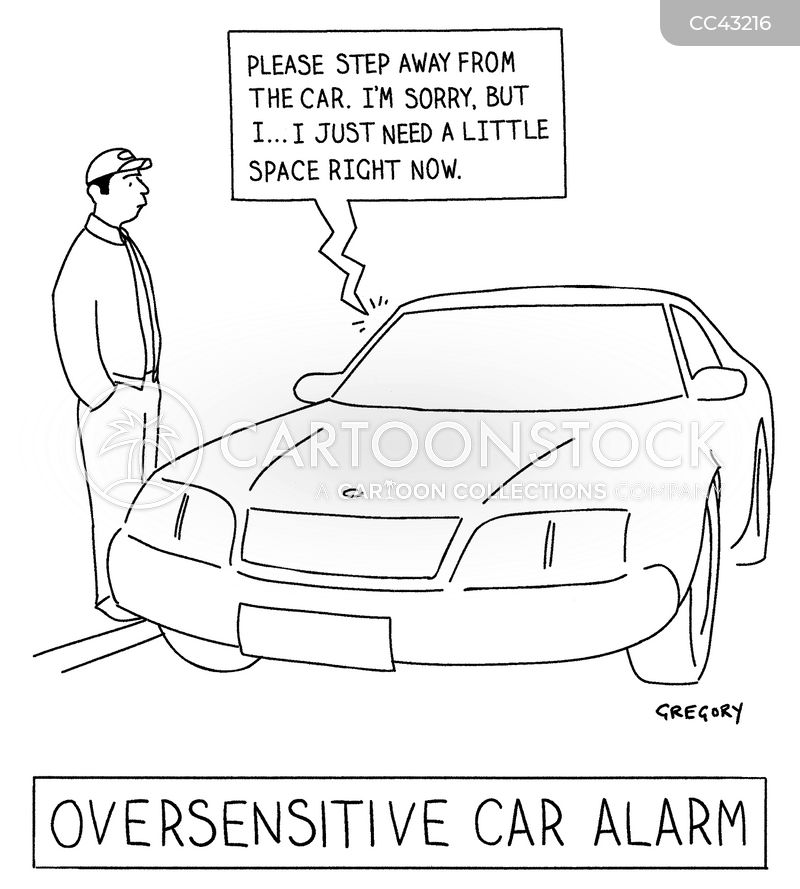 Driving Test cartoon