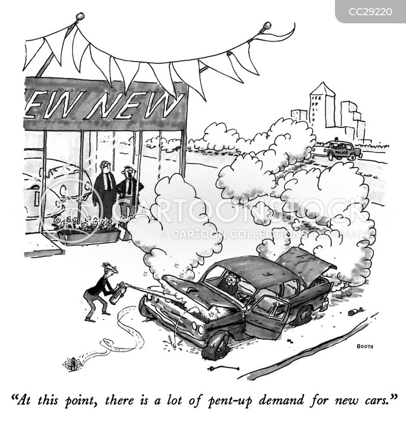 Used Car Salesman Cartoons And Comics Funny Pictures From Cartoonstock