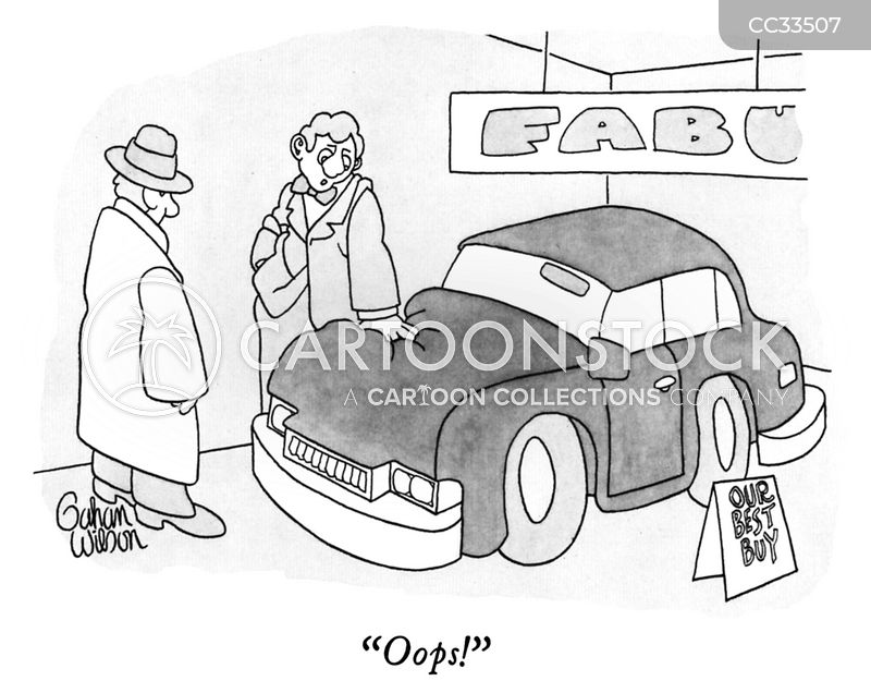 salesperson cartoon