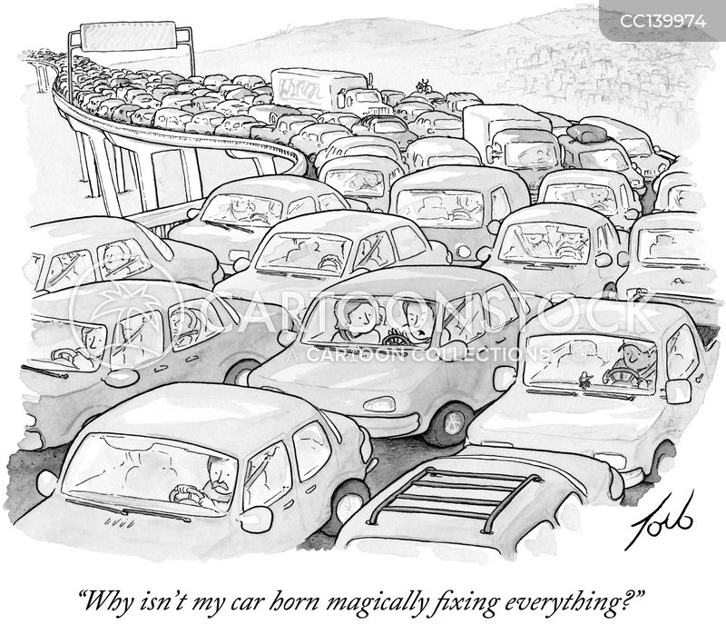 motorway cartoon