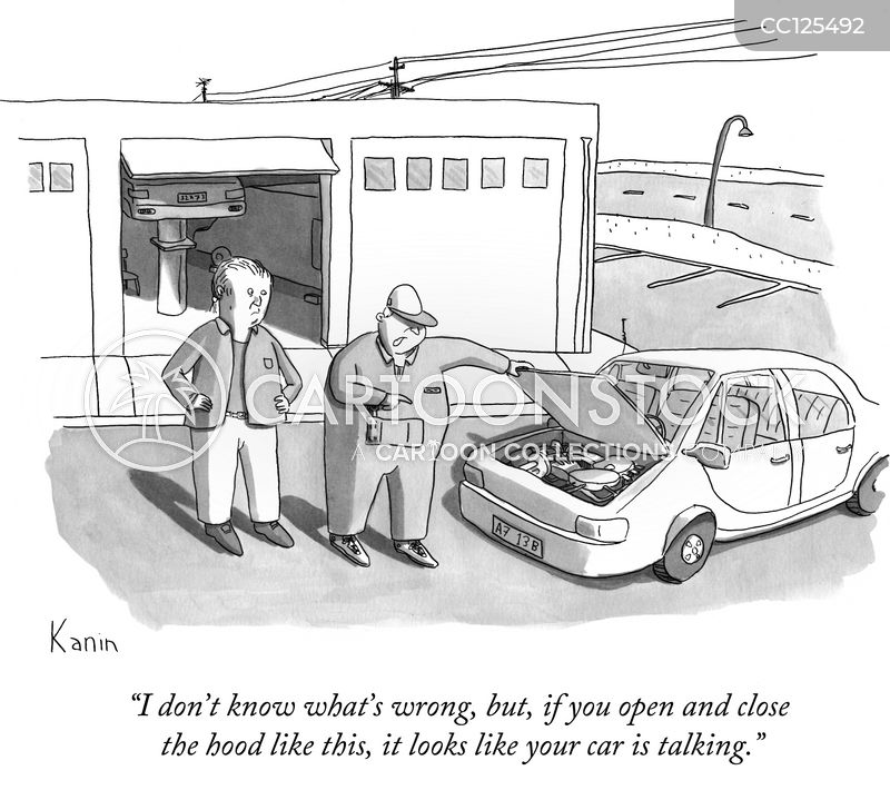 garage cartoon
