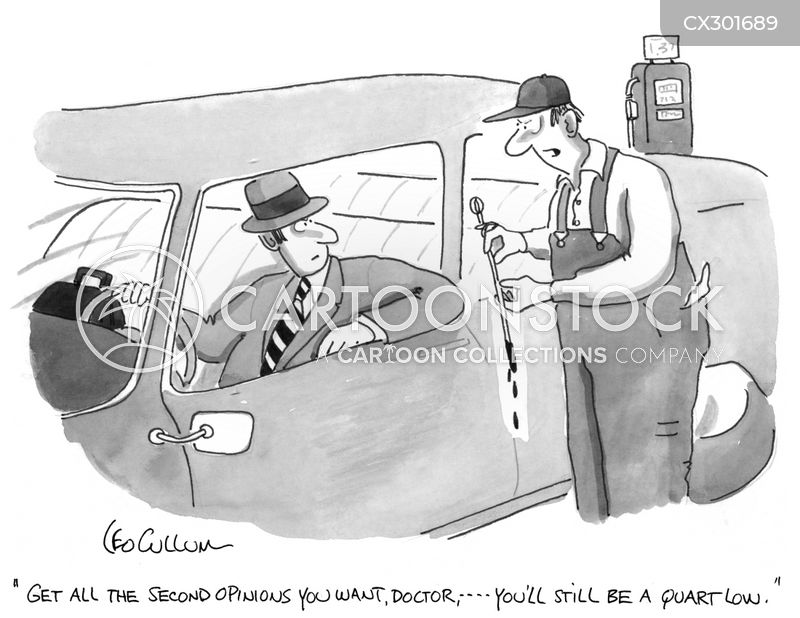 Oil Change cartoon