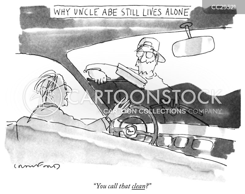 Windshield cartoon