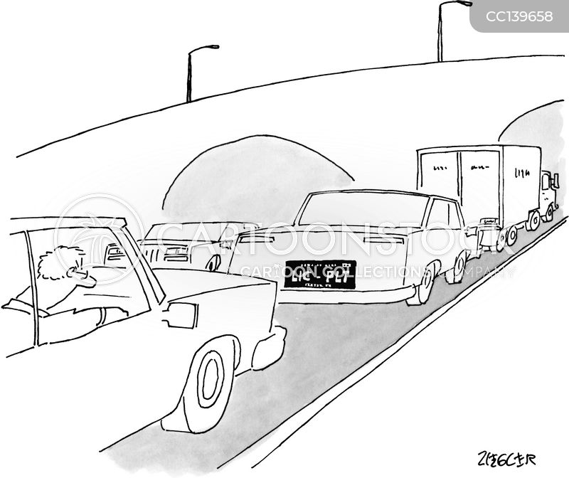 Vanity Plates cartoon