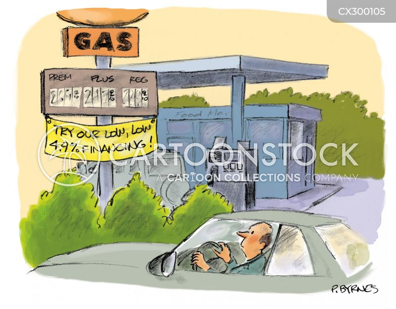petrol cartoon