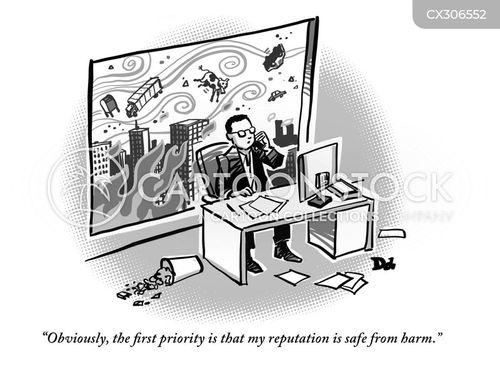 megacorporation cartoon
