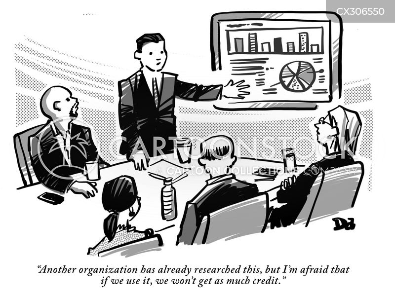 data gatherers cartoon