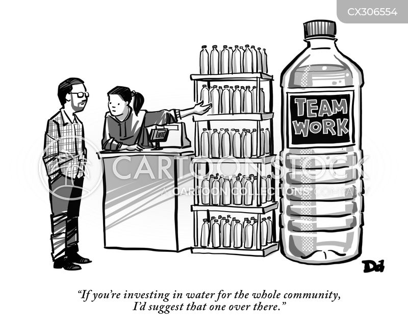 community projects cartoon