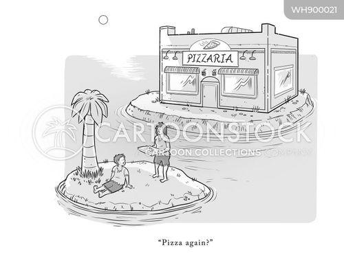 takeaway cartoon