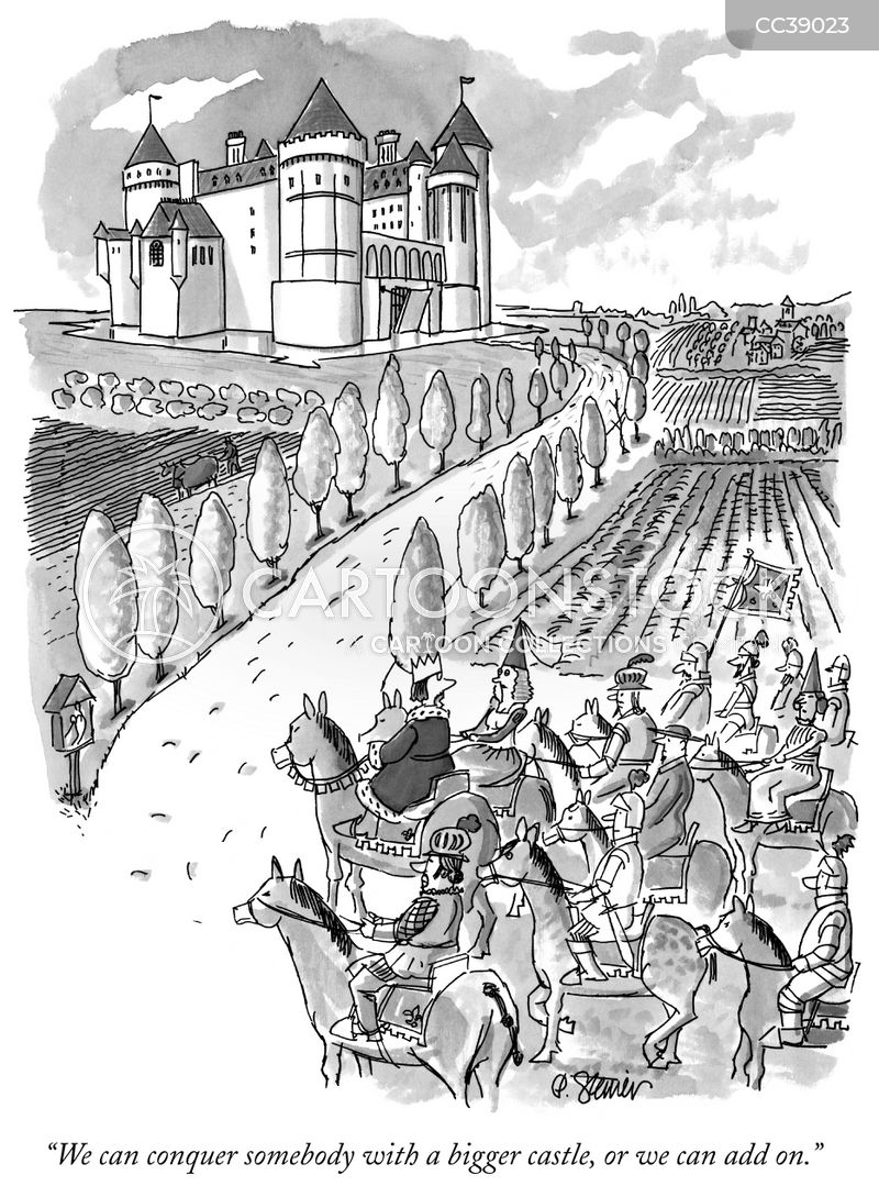 conquerers cartoon