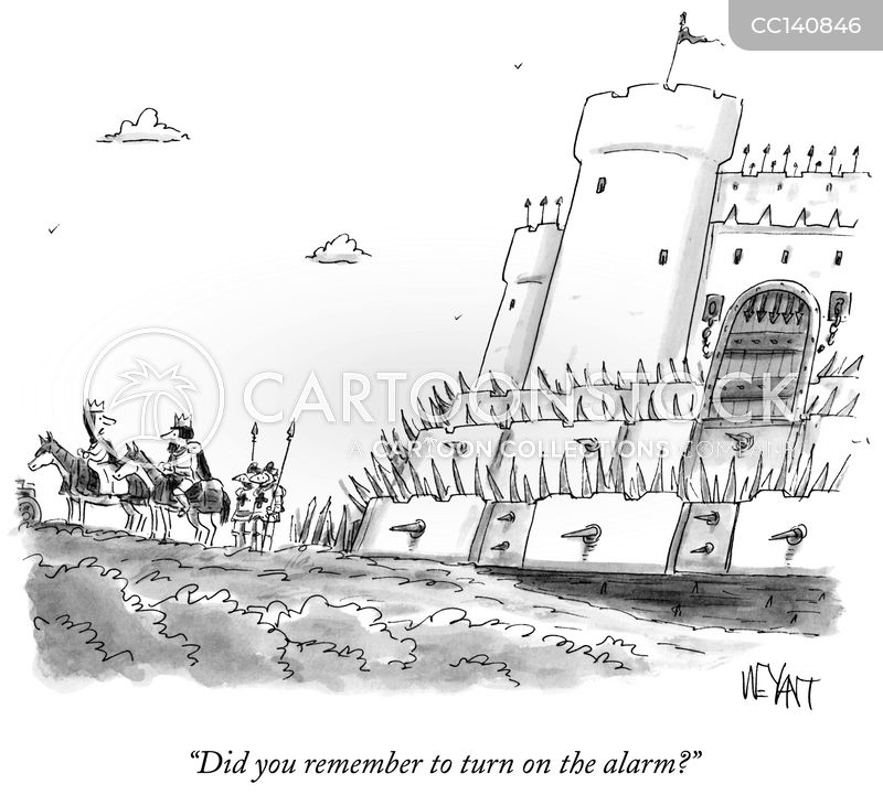 Alarms cartoon