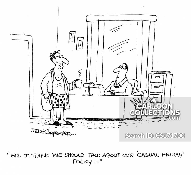 Casual Friday Policy Cartoons and Comics - funny pictures from ...