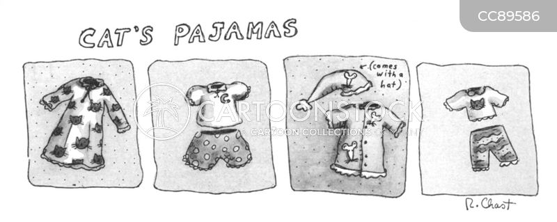 pajama cartoon