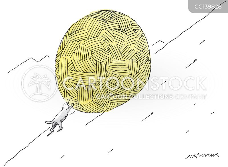 ball of string cartoon