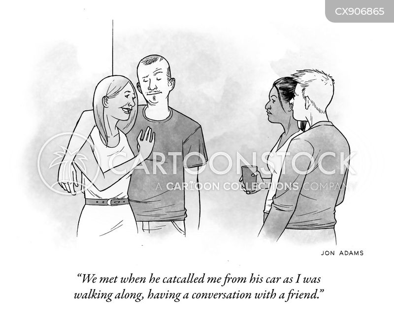 catcalling cartoon