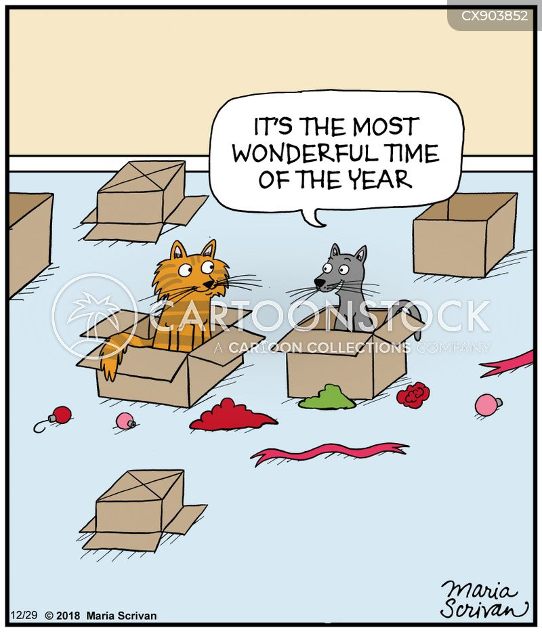 cardboard box cartoon