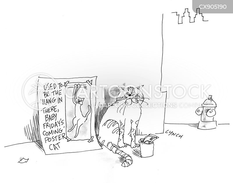 destitute cartoon