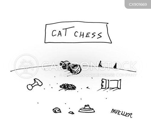chess player cartoon