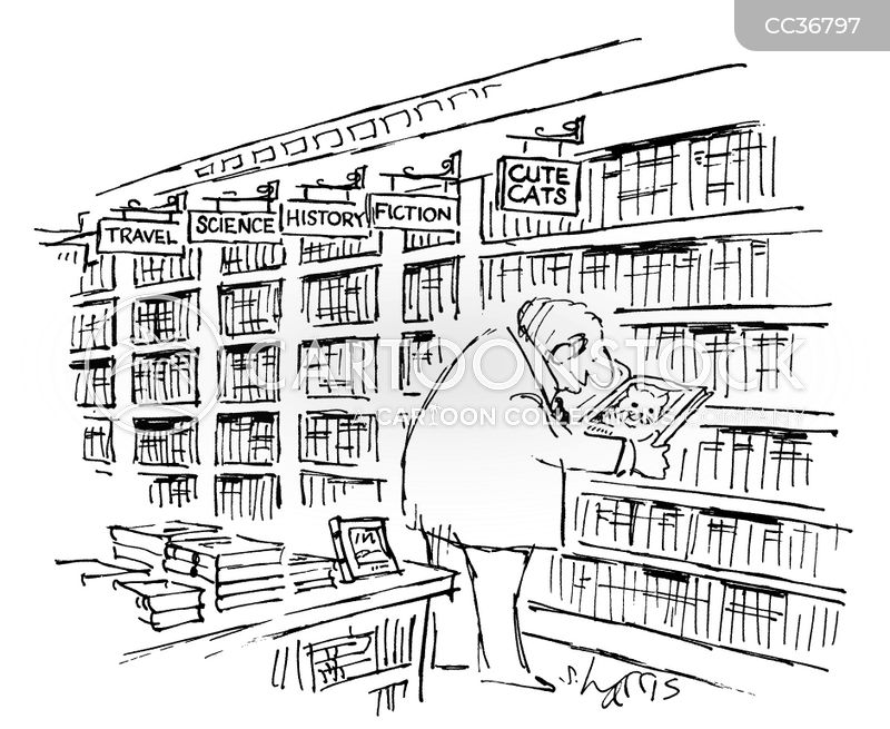 Shops cartoon