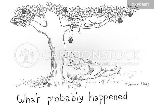 assumption cartoon