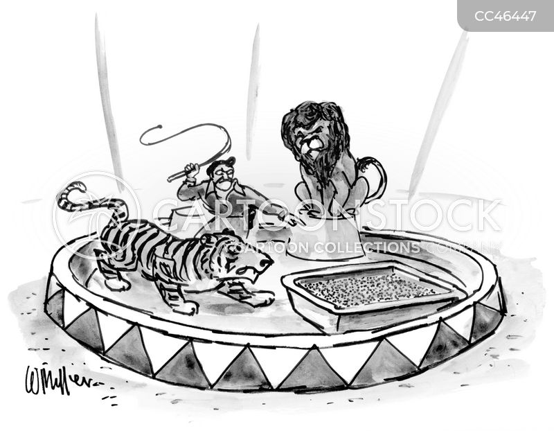 big cats cartoon