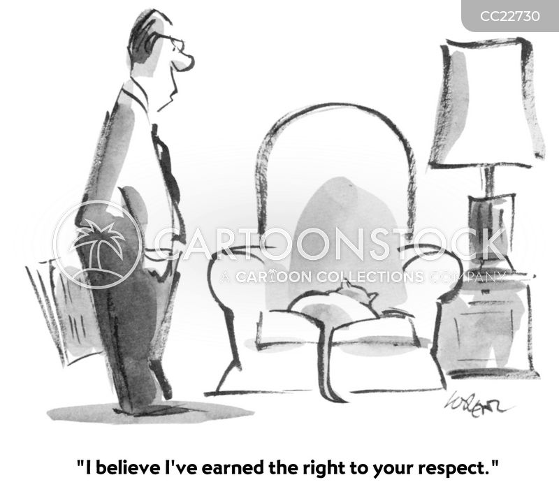 respectful cartoon