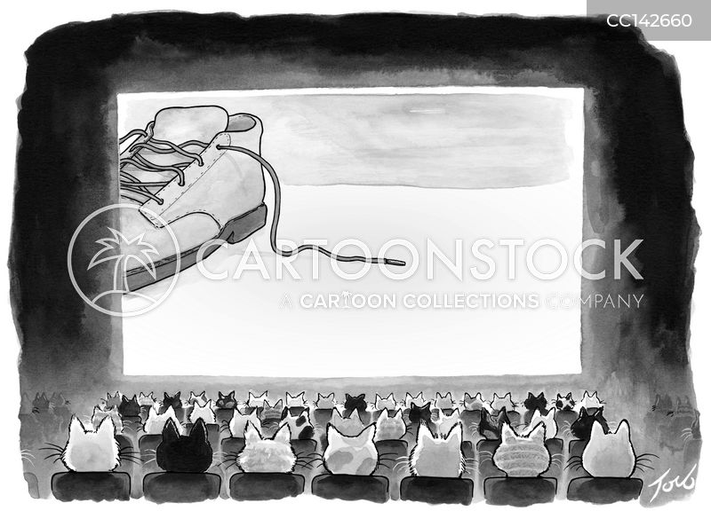 movie theatre cartoon
