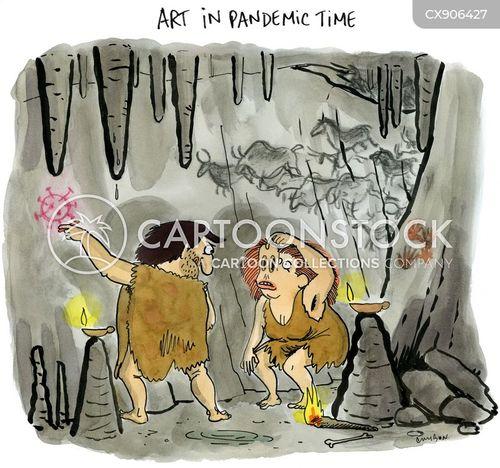 cave people cartoon
