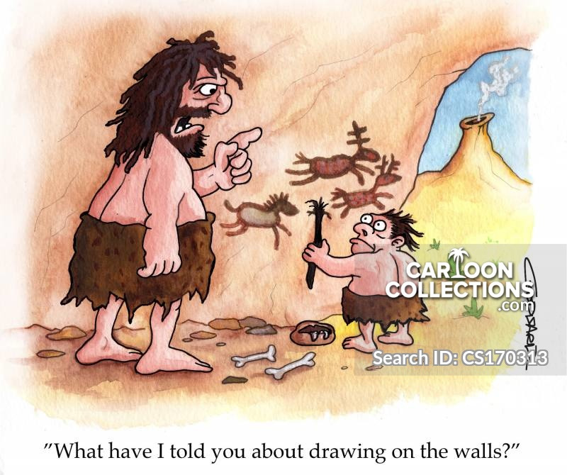 draw on walls cartoon