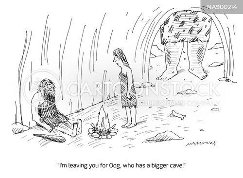 deflated cartoon