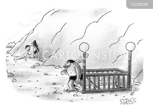 prehistoric man cartoon